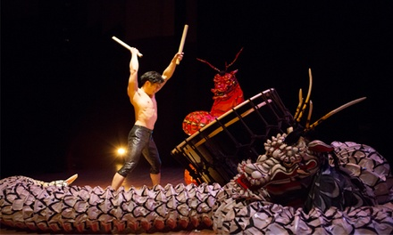 Kodo One Earth Tour: Mystery at Sony Centre for the Performing Arts on March 12 at 8 p.m. (Up to 50% Off)