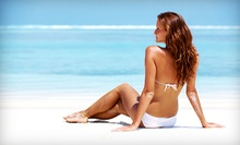 One or Three Airbrush Tans or Beach- or Premier-Club Tanning Membership at Pacific Tan (Up to 58% Off)