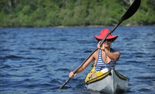 $30 for a Half-Day Kayak Rental for Two from Five Rivers Delta Safaris ($60 Value)
