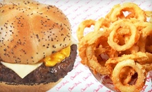 $14 for Four $7 Vouchers Good for Burgers and Shakes Across Four Visits at Char Hut. Four Locations Available.