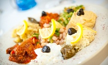 Turkish and Mediterranean Cuisine for Lunch or Dinner at Istanblu (Half Off)