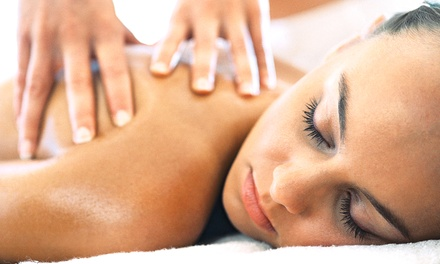 60-Minute Swedish Massage or Deep-Tissue Massage with Hot Towels at Healing Hands Massage and Mobile Services (53% Off)