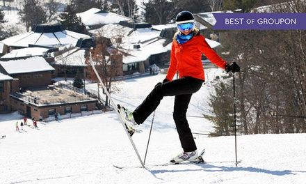 Lift Ticket or Ski or Snowboard Package with Equipment Rental and Lift Ticket at Devil's Head Resort (44% Off)