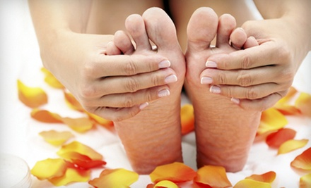 Laser Toenail-Fungus Removal for One or Both Feet at Advanced Foot Specialists (Up to Half Off)