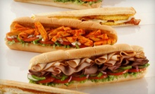 $12 for a Deli Meal with Subs, Chips, and Drinks for Two at Subway (Up to $24.40 Value)