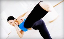 5 Classes or 10 Classes and Hand Wraps at MMAXOUT Fitness (Up to 76% Off)