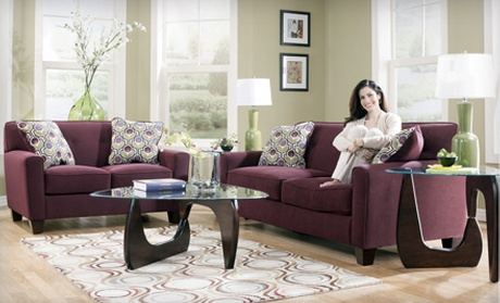 Home furnishings ashley furniture homestore groupon for Furniture xchange new jersey