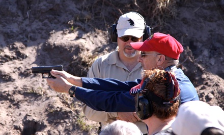 Introductory Handgun, Rifle, or Shotgun Class at Florida Firearms Training (Half Off)