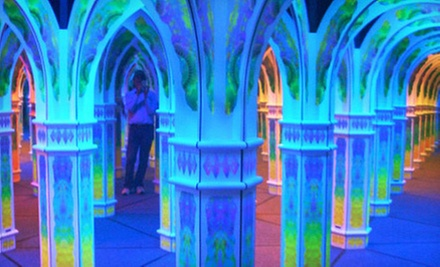 Visit for 2, 4, 6, or 15 to Magowan&#x27;s Infinite Mirror Maze (Up to 51% Off)