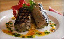 Three-Course Dinner for Two, Four, or Six, or $7 for $15 Worth of Lunch at Village Grill in Highland Village