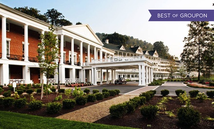 Groupon Deal: Stay at Omni Bedford Springs Resort in Bedford, PA. Dates into June.
