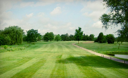 18-Hole Round of Golf for Two or Four with Cart Rental and Burgers at Hartland Glen Golf Course (Up to 55% Off)