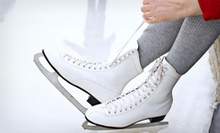 Ice Skating for Two or Four or Skating Lessons on Wednesdays or Saturdays at York City Ice Arena (Up to 54% Off)