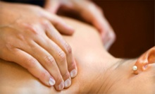 60-Minute Massage, or 30-Minute Massage with 30-Minute Facial at A.H.A. Wellness Services (Up to 56% Off)