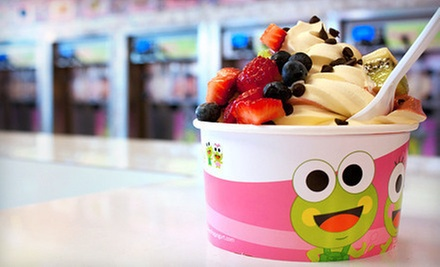 $5 for $10 Worth of Frozen Yogurt at Sweet Frog Frozen Yogurt