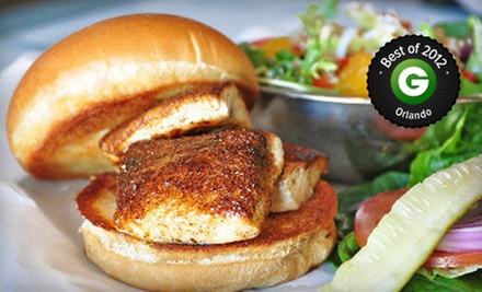 Southern Cuisine and Drinks During Dinner at Fresh on the Fly (Up to 52% Off). Two Options Available.