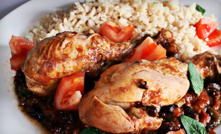 Jamaican Cuisine for Two or Four or More at Caribbean Feast Restaurant (Half Off)