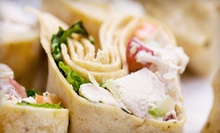 Wraps, Salads, and Stir-Fries at Roscoe's Wrap It Up (Up to 53% Off). Two Options Available.