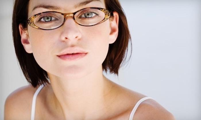 Прически для очкариков женские