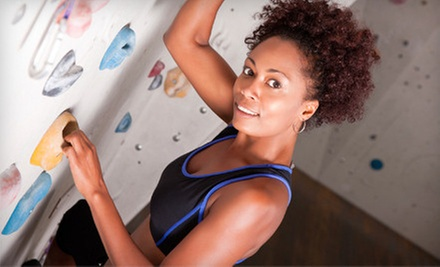 10 Visits with Gear Rental or One Month of Unlimited Rock Climbing with Gear at Crux Rock Climbing Gym (Up to 60% Off)