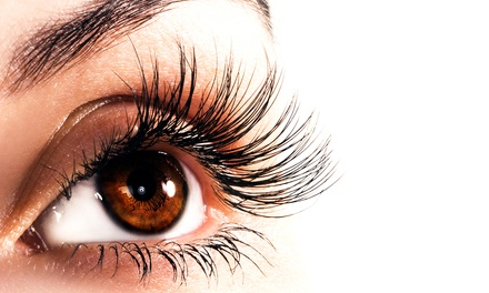Full Set of Eyelash Extensions with an Optional Fill at Pilar's Golden Shears (Up to 55% Off)