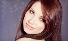 Salon Packages with Haircuts, Deep Conditioner, and Highlights at FeNom Salon (Up to 61% Off). Three Options Available. 