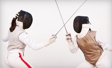 $25 for a 90-Minute Introduction to Fencing Class at Farmington Valley Fencing Academy ($50 Value)