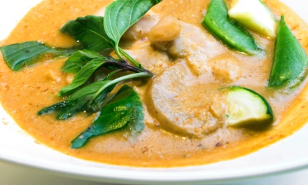 Thai Dinner with Appetizers and Soft Drinks for Two or Four at Bangkok Inn (51% Off)