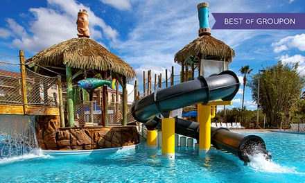 Groupon Deal: Stay with Wildlife-Park Passes at Liki Tiki Village Resort in Winter Garden, FL. Dates Available into July.