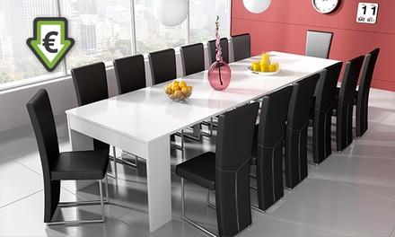 Mesa extensível até 3 metros disponível em duas cores por 289€