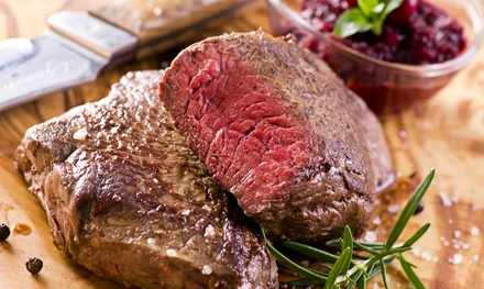 Steaks and Seafood, Valid Sunday–Thursday or Any Day at Mecca Supper Club (Up to 50% Off)