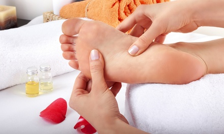 One or Two 60-Min. Reflexology Sessions with Customized Essential Oils at Reflexology Health LLC (Up to 53% Off)