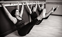 5 or 10 Barre Fitness Classes at Temple Fitness (Up to 75% Off)