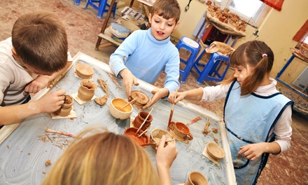 Parent-Child Pottery Classes for One, Two, or Three Children at Clay Owen Studios (Up to 53% Off)