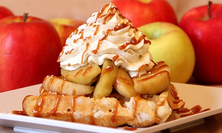 Belgian Waffles, Ice Cream, and Coffee, or a Party at Ellie's (Up to 50% Off)