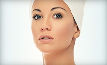 Eyebrow Wax and Manicure, or One or Two 60-Minute Deep Pore-Refining Facials at Saving Face Esthetics (Up to 64% Off)