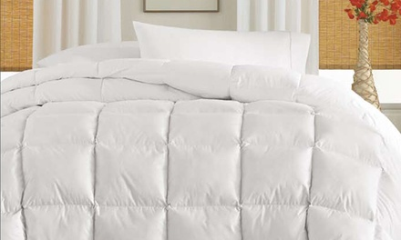 Club Le Med White Down Comforter