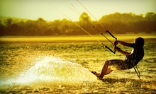 One or Two Semiprivate Introductory Kitesurfing Lessons for One or Two from Zen Athletics (Up to 73% Off)