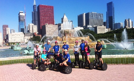 $69 for a Segways at Sunset Tour for Two from Bike and Roll Chicago (Up to $138 value)