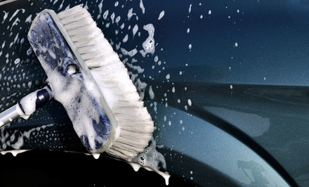 Three Groupons, Each Good for One Full-Service or Gold Car Wash at Justin's Car Wash Center (Up to 37% Off)