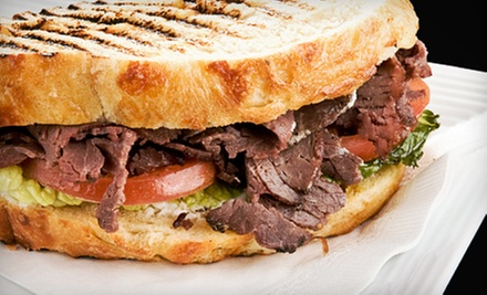 Meal for Two or Four with Sandwiches, Chips, and Drinks or Catering for Ten at Vine Street Deli (Up to 46% Off)