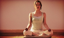 10 or 20 Hot Himalayan Salt Yoga Classes or Boot Camp at Rebirth Yoga Studio (Up to 74% Off)