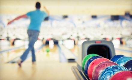 $24 for Bowling for Up to Six with Pizza and Pitcher of Soda at Lane Glo Bowl ($49.95 Value)