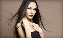 Straightening Treatments or Blowouts at Heaven &amp; Hannah Beauty Lounge (Up to 74% Off). Four Options Available.