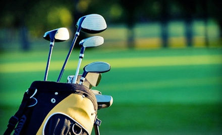 18-Hole Round Golf for Two or Four at Windmill Hill Golf Course 