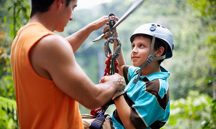 3xtreme - East Grinstead: Outdoor Adventure Day Including Abseiling and Archery £59 With 3xtreme