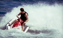 30- or 60-Minute Jet-Ski Rental with Access to Umbrella and Two Chairs from American Watersports Inc (Up to 57% Off)