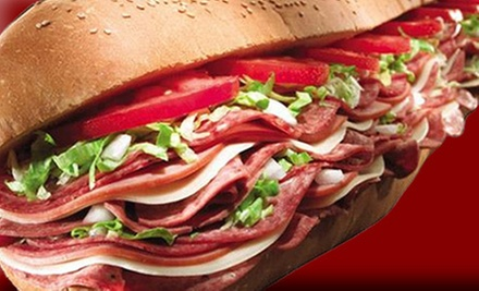 $15 for Three Vouchers, Each Good for $10 Off Your Bill at Tubby's Grilled Submarine ($30 Value)