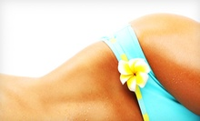 One, Three, or Five Custom Airbrush Tans at Airbrush by April (Up to 62% Off)