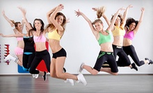 10 or 20 Bokwa, Zumba, or Yoga Classes at Fitness In Motion (Up to 65% Off)